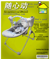 Sassy battery-operated electric infant musical bouncers swings baby jumpers rocking cribs/cots/chair (0-18 months)