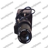 600TVL 1/3 Inch SONY Super HAD CCD CCTV camera 6-15mm Auto IRIS Lens