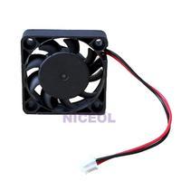 NI5L 12V 2 Pin 40mm Computer Cooler Cooling Fan PC Black F