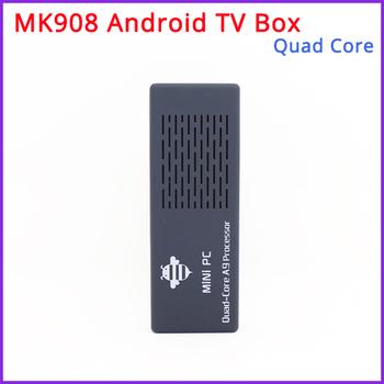 Free Shipping - New  MK908 Quad Core Android TV Box / Mini PC RK3188 2GB DDR3+8GB Build in Bluetooth4.0 /WiFi 1080P