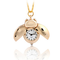 Child watch pocket watch pocket watch fashion gold plated decoration child cartoon table student watch