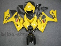 Fits for GSXR1000 K7 07 08 GSXR1000 2007 2008 fairig  XJHJDFDE
