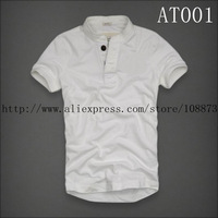 Hot Sale Fashion Short man Stand-up collar POLO Shirt,, 100% cotton Free Shipping