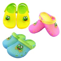 Summer child sandals slippers hole shoes male child girls shoes baby sandals mules shoes home