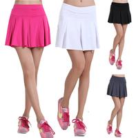 Hot-selling 2013 milk, silk pleated skirt yoga workout clothes sports short skirt tennis ball dress short skirt women's skorts