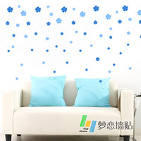 88 flower sofa wall child real decoration married romantic bedside tv