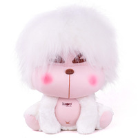 Kapo monkey white punk 15 card 35cm plush toy