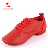 Sasan modern dance shoes summer callisthenics jazz shoes soft outsole 7721