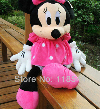 50cm minnie mouse soft toys stuffed mickey mousebirthday presents kids toy one piece free shipping