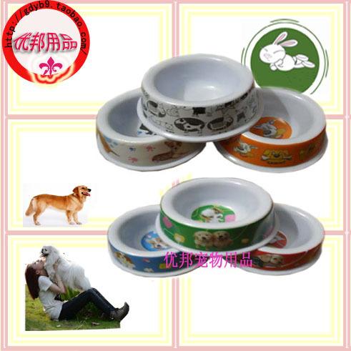 Free shipping Pet utensils dog bowl supplies pet fancy dog bowl cat bowl(China (Mainland))