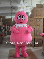 High quality Yo Gabba Gabba Mascot Costume foofa mascotta costume Free Shipping
