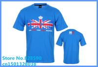 Free Shipping Hotsale Brand YMCMB Cheap UK flag Print YMCMB T shirts HIPHOP T-shirts men T-shirt M L XL XXL XXXL