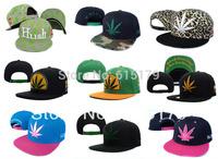 Men's DGK Weed leaf Snapback hats adjustable baseball football sports hats caps 2013 NEW Fashion many styles Hip-Hop 1pcs/lot