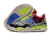 cheap J4 retro mens Basketball Shoes,fashion J4 for men,leopard print lighted,Wholesale mix order Free Shipping