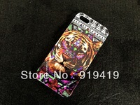 Free shipping mobile accessories NEW DESIGN  cell phone case cover pouch decoration for IPONE 5   AC016