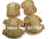 Sand color Tactical X-tak Pad,Latest version  knee pads & elbow pads set,EVA,TPU,1000Dnylon