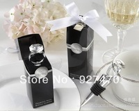 Wedding Favors Gifts/ Diamond Ring Crystal Bottle Wine Stopper/ Bridal Favors Promotion Gifts Free Shipment