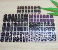 2013  flower decoration nail sticker (16pieces/set)