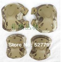 Jungle Camo color Tactical X-tak Pad, knee pads & elbow pads set,EVA,TPU,1000Dnylon