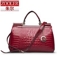 Commercial women's ol handbag crocodile pattern leather bag 2013 women's handbag cross-body handbag