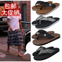 2013 male fashionable casual flip flops flip slippers beach slippers