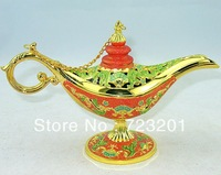 Free shipping, Russia crafts continental Aladdin magic lamp high-grade frosted tin opener