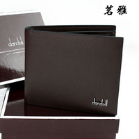 Wallet new hot-selling men's male wallet short design cowhide wallet