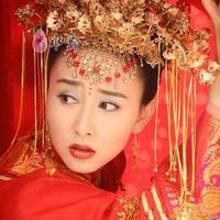 Tassel bride coronet hair accessory costume hair accessory cheongsam hair accessory marriage accessories