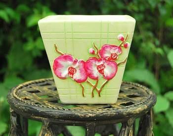 Quality sets of pots multicolor ceramic flower pot vase decoration flower mini meat small bonsai q2