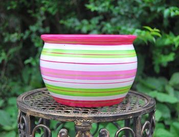 Quality sets of pots multicolor ceramic flower pot vase decoration flower mini meat small bonsai 24