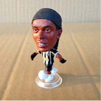 Free shipping football star doll of ronaldinho atletico mineiro , football star toy figure of ronaldinho atletico mineiro