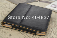 "Gifts!free shipping original leather case for pipo m7t m7pro pu folding with stand for 8.9"" pipo m7t m7pro tablet pc black/brown"