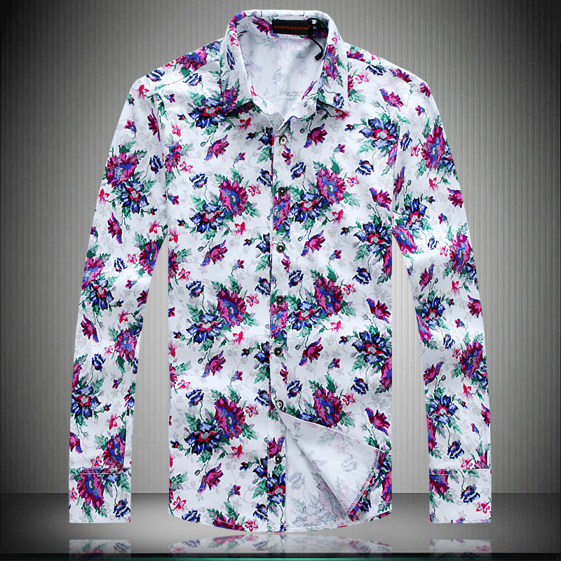 Flower Mens Shirts | Is Shirt