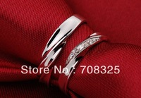 HOT Sale Sincere Love 925 Sterling Silver Ring Hi-Fashion Couple Ring Nice Ring Box Packing Free Shipping