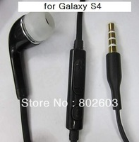 Free shipping For SAMSUNG GALAXY S4 I9500 GALAXY Note N7000 Note2 N7100 Handsfrees headphone earphone