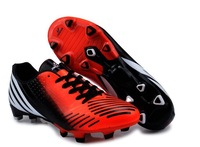 Free shipping 1pair/lot 2013 Football Boots Nail Outdoor Game Soccer Shoes for Training