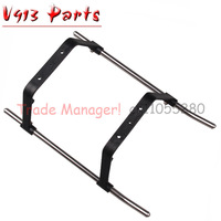 Wholesale Landing gear V913-24 for WL V913 2.4G 4CH rc RC helicopter spare parts WLtoys Free shipping