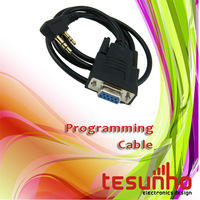 free shipping walkie talkie programming cable for almost all two way radio serial port