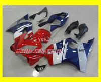 HOT Red blue white Fairing kit for 2001 2003 HONDA CBR600 F4I 01-03 CBR600 F4I CBR600F4I 01 02 03
