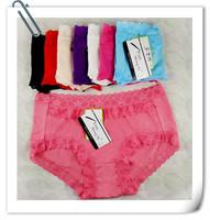 Bamboo fibre women's panties young girl briefs modal hot-selling women's panties mid waist