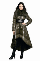 Fashion dress fanny 2011 slim down coat