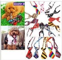 Wholesale - Pet neck tie dog ties Lovely PET puppies BOWS TIES Collars Cat necktie pet clothes 500PCS.#0647B