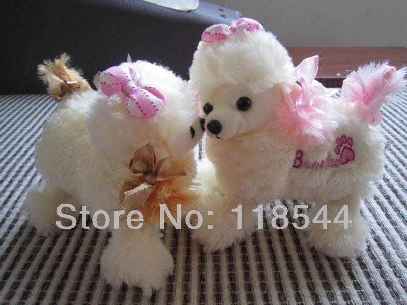 plush poodle dog plush dog toy children present gifts lovely toy dog toy(China (Mainland))
