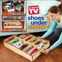Wholesale Shoe Storage Box 12 Case Transparent Receive Shoe Bag Free Shipping Moistureproof Deodorant