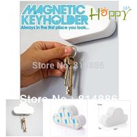 2013 100% High quality Magnet keychain pendant cloud key holder  Fashion Household Free shipping 1pcs/lot
