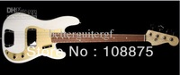 2013best guitar Custom Shop '59 Precision Bass Electric Guitar P-Bass NOS White Blonde100% Excellent Quality