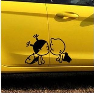 Наклейка Ребенок в машине. Дети в машине