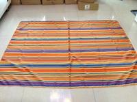 colorful stripes Tb015 terylene fabric tablecloth table cloth print table cloth 150x200cm