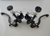 Motorcycle Forged Clutches & Brake Master Cylinder Adjustable Direct Push Pump & CNC High Quality