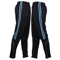 New 2014 Argentina Men Professional Football Pants  Sports Training Leggings Elastic Soccer Skinny Trousers  Sz L-4XL